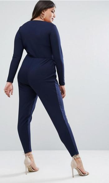 Combi bleue Curve